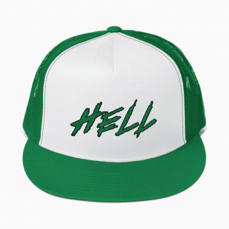 "Hell ""Celtics"" 5-Panel Trucker Hat"