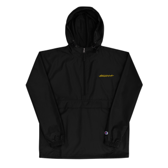 Black No Hello.L.A. Packable Jacket