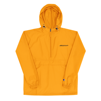 Gold No Hello.L.A. Packable Jacket