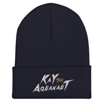Kay The Aquanaut Cuffed Beanie